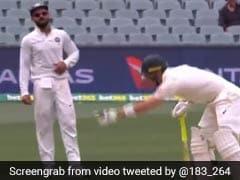 Ind vs Aus: विराट कोहली ने कंगारू कप्तान पर किया जुबानी हमला, कुछ ही मिनट बाद हुए आउट, देखें VIDEO