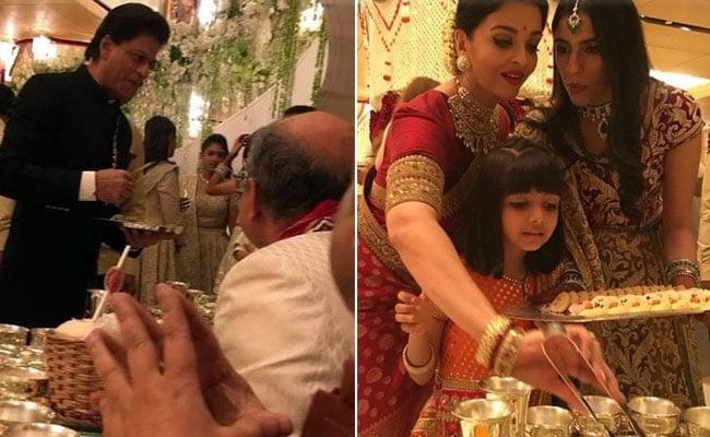 ईशा अंबानी की शादी में ऐश्वर्या राय और शाहरुख खान ने जीता मेहमानों का दिल, यूं परोसा खाना Video हुआ वायरल