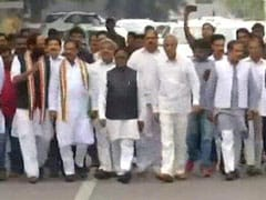 Congress, Chandrababu Naidu's TDP Meet Governor To Pre-Empt Telangana Bid