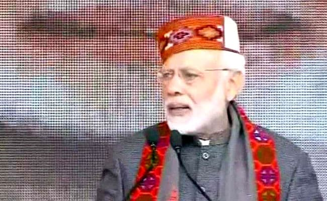 PM Modi In Dharamshala As BJP Completes 1 Year In Himachal: Highlights