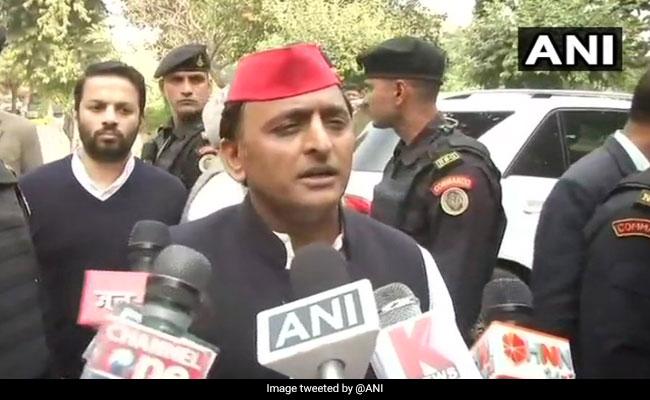UP Minister Hits Back At Akhilesh Yadav's For 'Thok Do' Remark