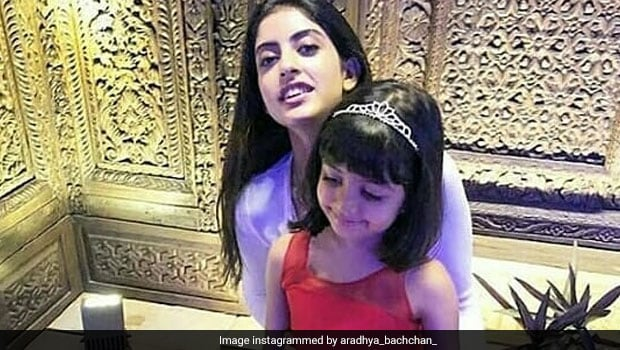 Video: Aradhya Can't Take Her Eyes Off Of Navya Nanda's Gorgeous 21st Birthday Cake!