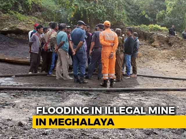 """Video : 13 Feared Dead In Flooded """"Rat Hole"""" Mine In Meghalaya"""