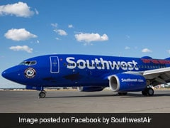 Southwest Jet Bellies To A Stop After Skidding Off Rainy Runway