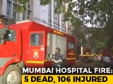 Video : 5 Dead, Around 100 Rescued After Fire At Hospital In Mumbai's Andheri
