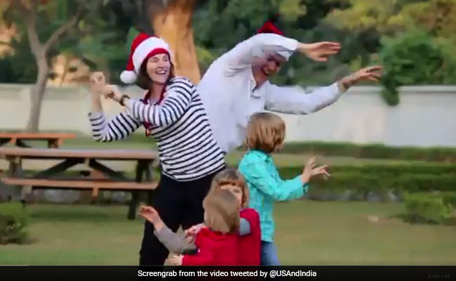 Happy Christmas 2018 Us Embassy New Delhi Shares Warmth Of