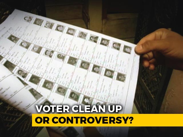Video : After Voter IDs Deleted, Focus On Software That Linked Them With Aadhaar