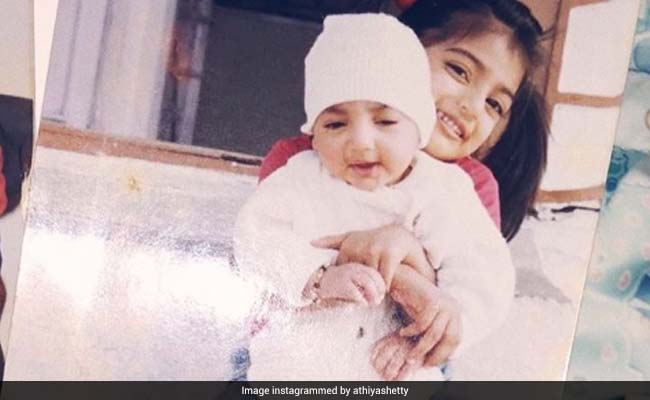Athiya Shetty's Million Dollar Throwback Pic On Brother Ahan's Birthday