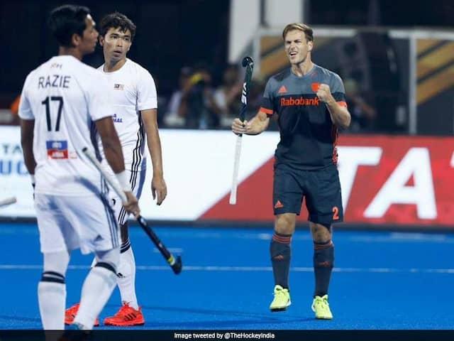 Hockey World Cup 2018: Netherlands Crush Malaysia, Germany Edge Past Pakistan