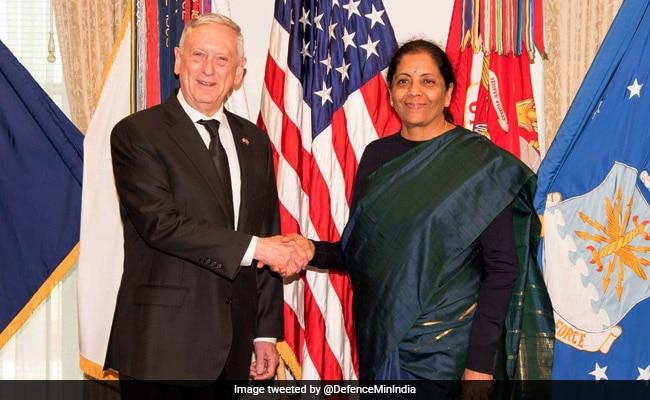 India, US To Enhance Defence Ties As Nirmala Sitharaman Visits Pentagon