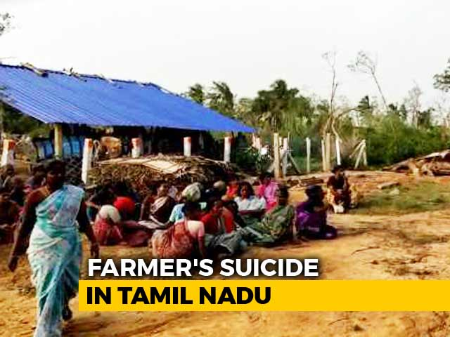 Video : Farm Labourer, Who Lost Home, Allegedly Kills Self In Gaja-Hit Thanjavur