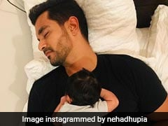 New Pic Of Neha Dhupia And Angad Bedi's Daughter Mehr Is the Cutest Thing You Will See On The Internet Today