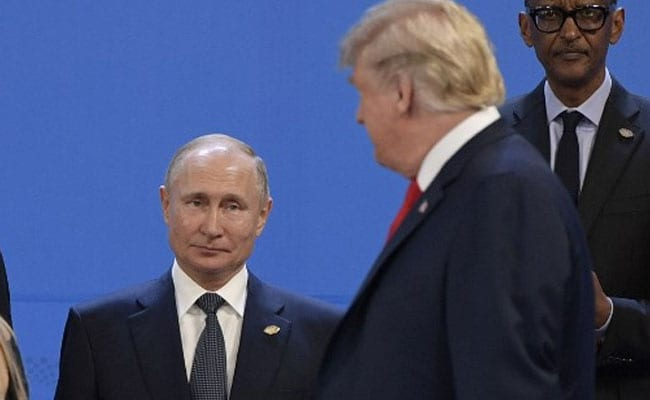 Trump Moves Past Putin At G20, Exchanges 'Pleasantries' With Saudi Prince