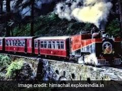 Leopard Spotted On Kalka-Shimla Heritage Railway Track