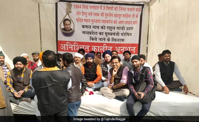'Kamal Nath Involved In '84 Riots': Delhi BJP leader Starts Hunger Strike