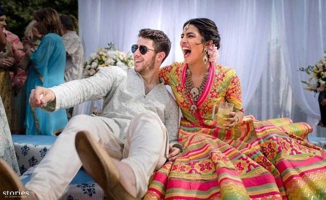 Pics From Priyanka Chopra And Nick Jonas' Mehendi Ceremony. Wait For More