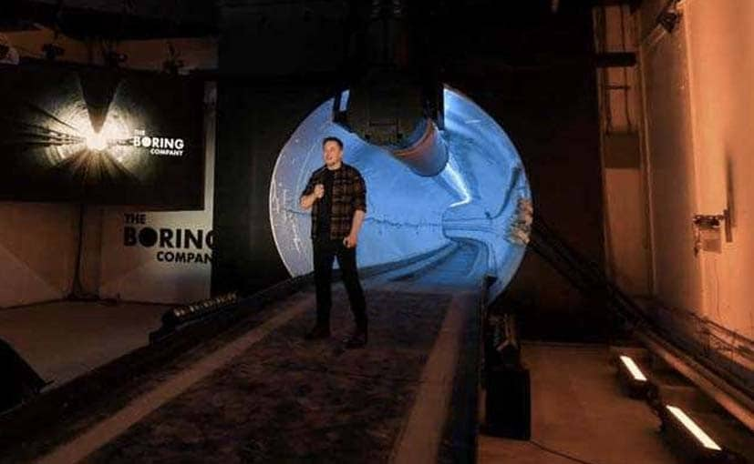 The Boring Company was founded by Tesla CEO Elon Musk