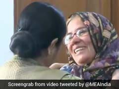 """<i>Meri Madam Mahan</i>"": Mother Of Mumbai Man Freed By Pak Meets Sushma Swaraj"