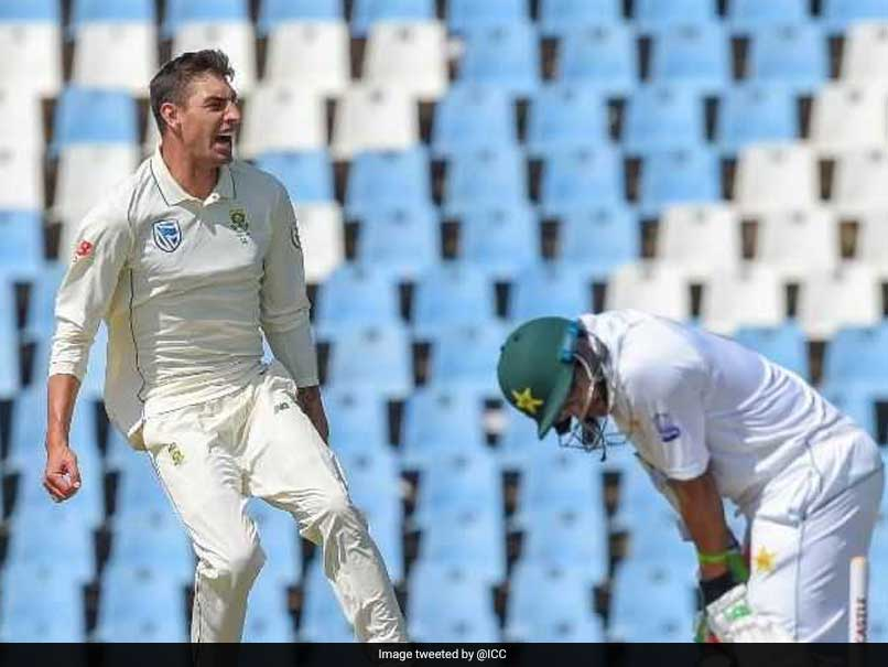1st Test, Day 2: Duanne Olivier Strikes Again As Pakistan Collapse vs South Africa