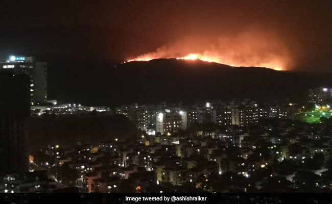 4 Km-Wide Fire In North-West Mumbai Forest Threatens Residential Areas