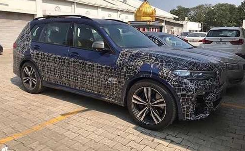 All New Bmw X7 Suv Spotted Testing In India For The First