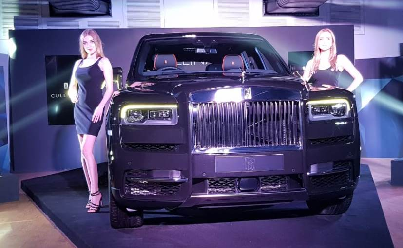 The Rolls Royce Cullinan is built on the carmaker's new 'Architecture of Luxury' platform