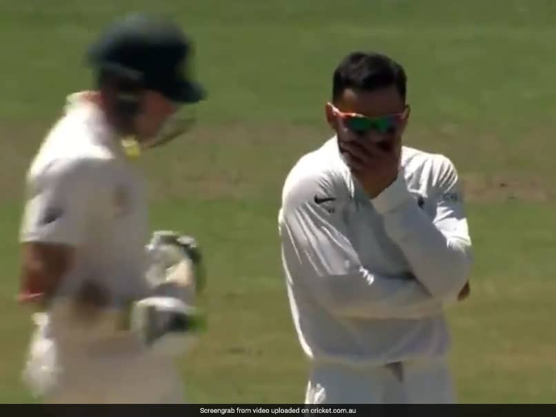 India vs Australia: Virat Kohli Takes A Wicket And Cant Believe It - Watch