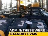 Video : EVMs Reach Collection Centre 2 Days After MP Polls, Congress Cries Foul
