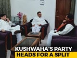 Video : Upendra Kushwaha's Party Heads For A Split As Bihar Legislators Revolt