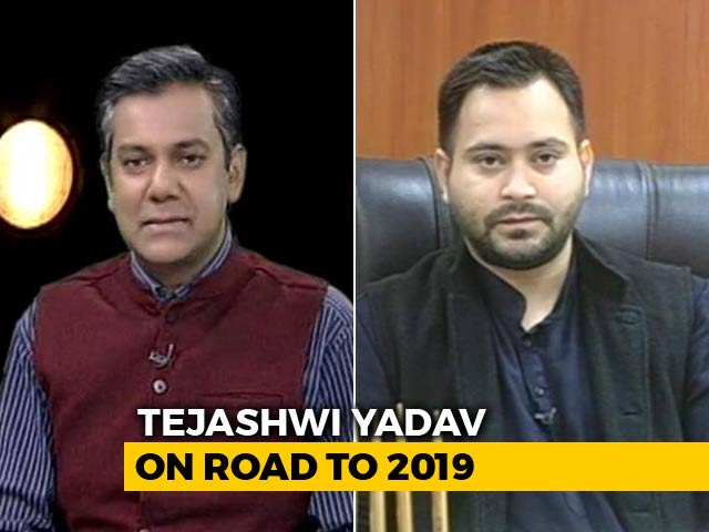 """Video : """"No United PM Candidate Among Opposition, Not A Problem: Tejashwi Yadav To NDTV"""