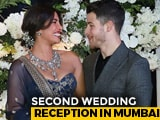 Video: Can't Take Eyes Off Priyanka Chopra And Nick Jonas At Mumbai Reception