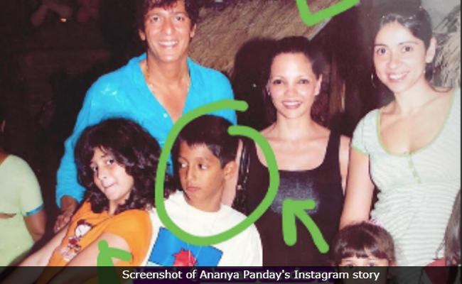 Ananya Panday's Throwback Pic, Featuring Family Is Just Too Cute To Be Missed