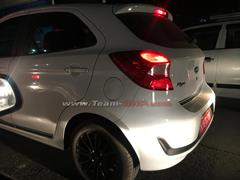 Production-Ready 2019 Ford Figo Facelift Spotted Testing