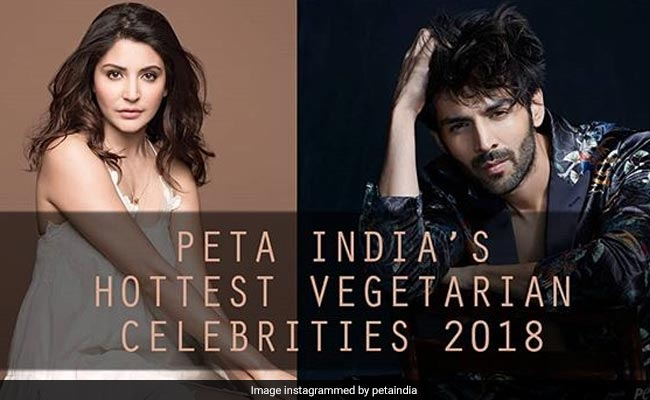 Anushka Sharma, Kartik Aaryan Win India's Hottest Vegetarian Title In PETA Poll