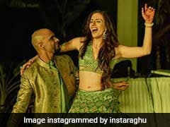 Raghu Ram And Natalie Di Luccio Share Stunning Photos From Their <I>Sangeet</I> Ceremony