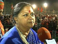 Mob-Lynching Is Murder, Should Be Looked At Like A Crime: Vasundhara Raje