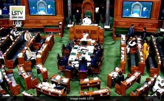 Congress Raises Rafale Issue In Lok Sabha Again, Rajnath Singh Counters