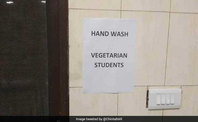 At IIT-Madras, Row Over Separate Mess Entry For Veg, Non-Veg Students