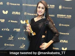 Manika Batra First Indian To Win Breakthrough Table Tennis Star Award