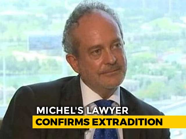 Video : NDTV Exclusive: Christian Michel On Private Flight To India, Says Lawyer