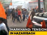 Video : Stone-Throwing, Clashes At Jharkhand Town During Shaurya Diwas Rally