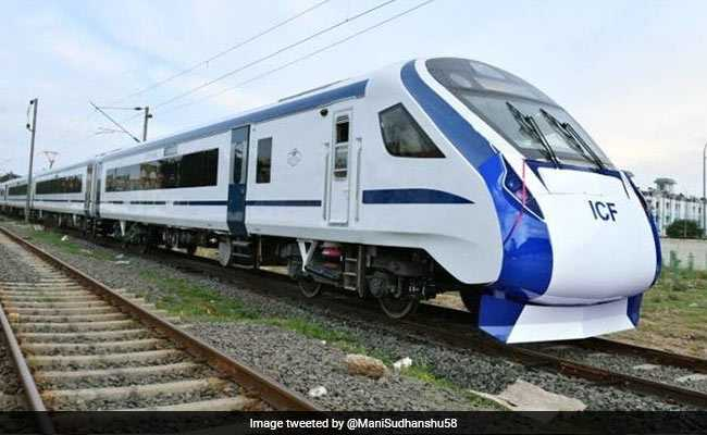 Report Of Delay Of Train 18, India's Fastest, 'Faulty': Railways Official