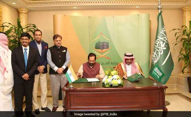 India Saudi Arabia Sign Bilateral Annual Haj Agreement For 2019