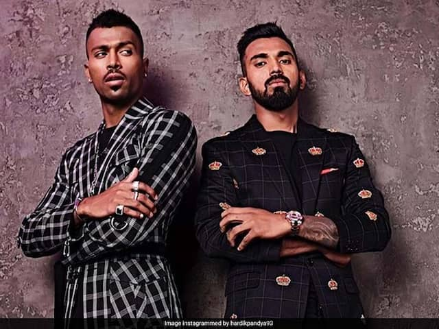 Watch: KL Rahul Says People Think He Is Dating Hardik Pandya