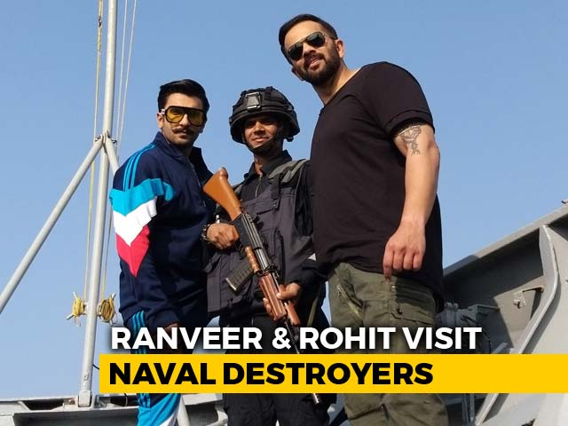 Jai Jawan With Ranveer Singh And Rohit Shetty
