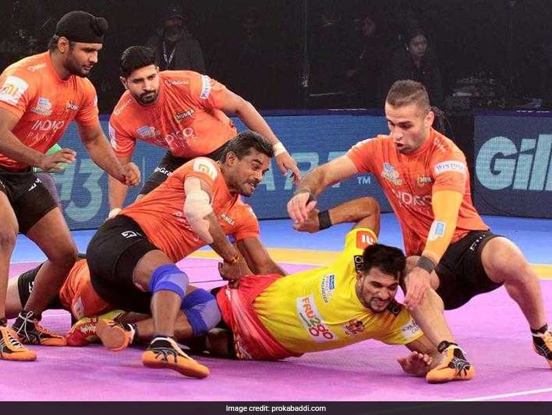 Pro Kabaddi League: U Mumba Break Gujarat Fortunegiants Jinx, Dabang Delhi Beat Puneri Paltan