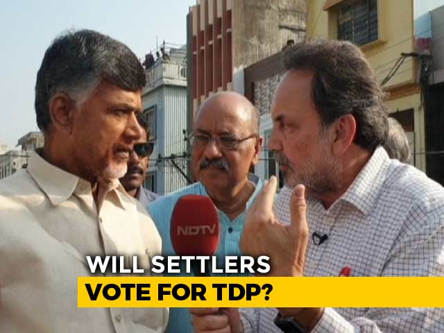 Video : Will He Be Opposition's PM Face? NDTV Exclusive With Chandrababu Naidu