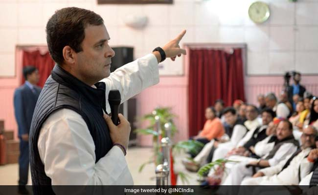 Congress's First Goal Is To Remove KCR From Telangana, Says Rahul Gandhi