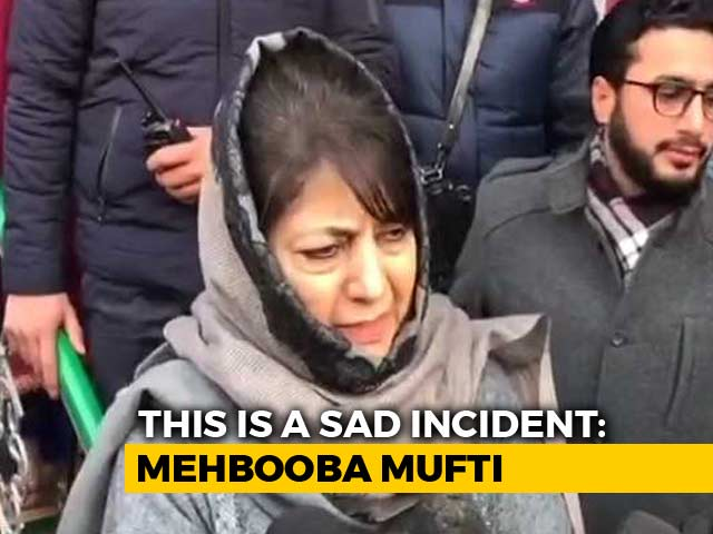 Video : Mehbooba Mufti's Warning After Cops Allegedly Beat Up Terrorist's Family
