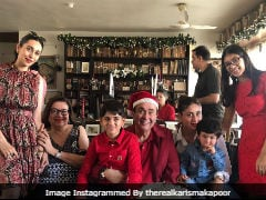 ICYMI: Inside Pics From The Kapoors' Christmas Brunch, Featuring Kareena, Taimur, Karisma And Others